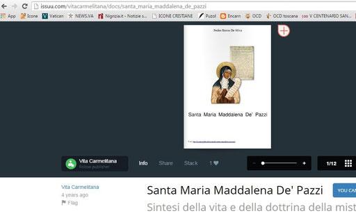 Vita Carmelitana pubblicazione non autorizzata da 30Giorni - S. Maria Maddalena de' Pazzi 2007 2