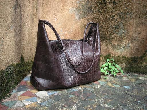 sac croco design Shizuko
