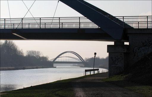 Brücken über den Datteln-Hamm-Kanal