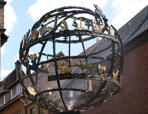 Moormannbrunnen am Steinhaus