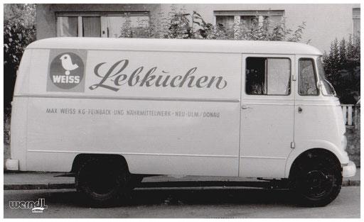 Leckere Fracht bei Weiss Lebkuchen.