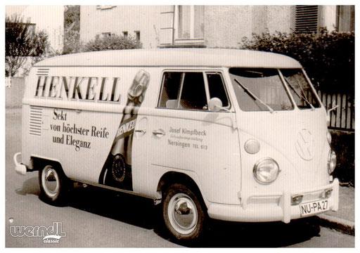 Fahrzeugbeschriftung eines Schaufenstergestalters aus Nersingen.