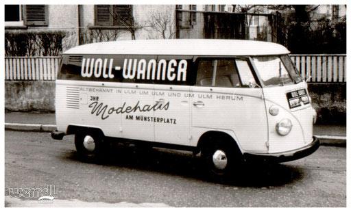 Fahrzeugbeschriftung für die Firma Woll Wanner.