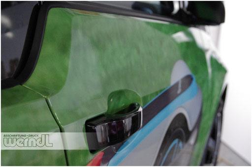 Bis ins Detail perfekt - Fahrzeugvollfolierung...