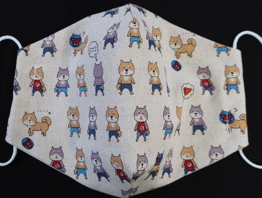 柴犬のクレンゼマスク(1)