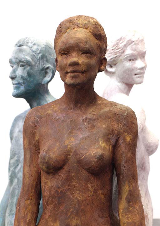 Sculpture terre, Voÿage, sculpteur Langloÿs, art, Toulouse, exposition, Galerie Toulouse, Galerie d'art Toulouse, Art Toulouse, Art, Toulouse
