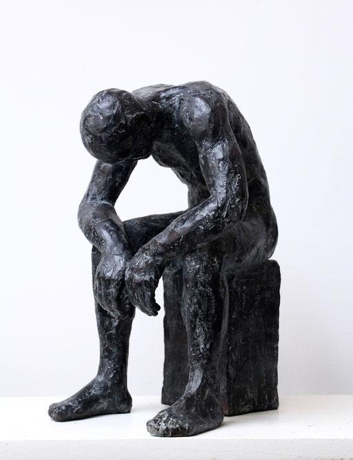 Sculpture bronze, corps d'homme, sculpteur Langloÿs, art, Toulouse, exposition, Galerie Toulouse, Galerie d'art Toulouse, Art Toulouse, Art, Toulouse