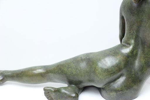 Sculpture bronze, corps de femme, sculpteur Langloÿs, art, Toulouse, exposition, Galerie Toulouse, Galerie d'art Toulouse, Art Toulouse, Art, Toulouse