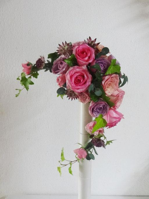 BRIDES生花ワイヤリング基礎コース埼玉北本Atelier Soleil