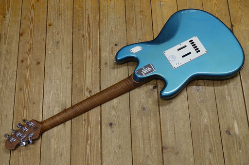 Music Man StingRay RS HH Vintage Turquoise
