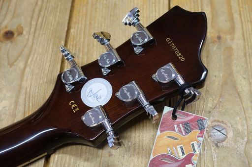 Hagstrom Super Viking Trans Brown Justin York