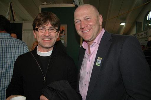 Pfarrer Wageneder und Anton Ebner