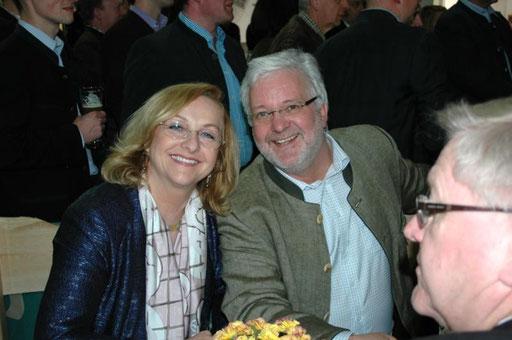 Maria Fekter und Wolfgang Hochreiter auf der HGM 2012