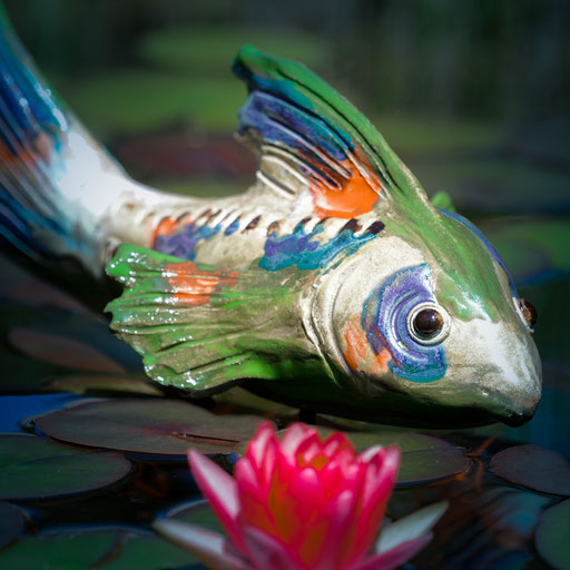 Fisch aus Keramik