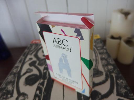 カードケース ABC Animals card set case design