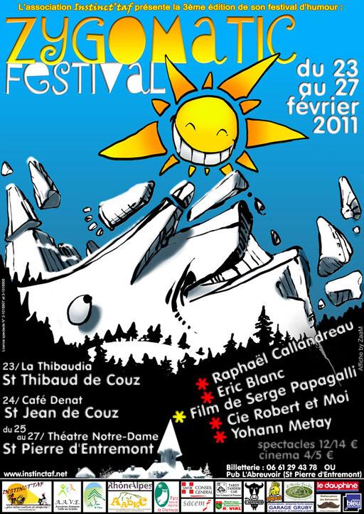 Zygomatic Festival affiche 2011