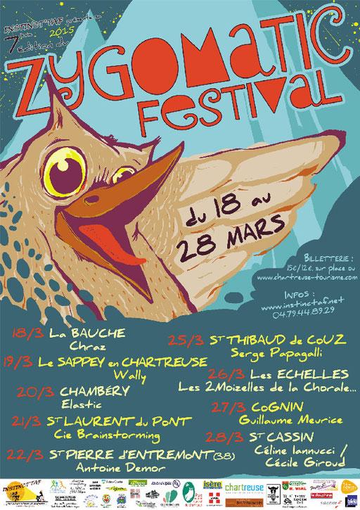 Zygomatic Festival affiche 2015