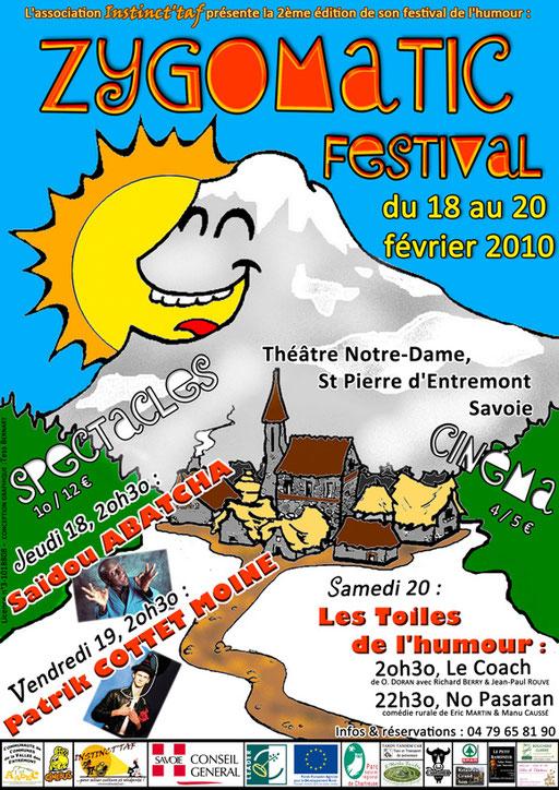 Zygomatic Festival affiche 2010