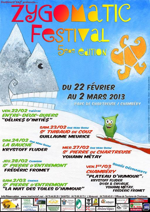 Zygomatic Festival affiche 2013