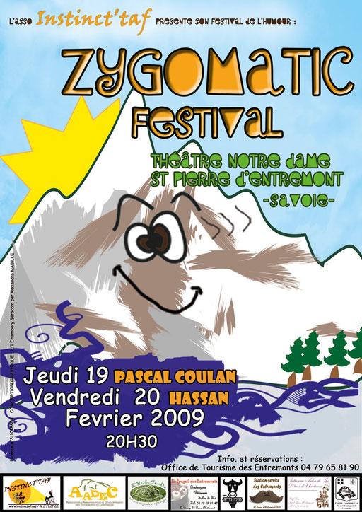 Zygomatic Festival affiche 2009