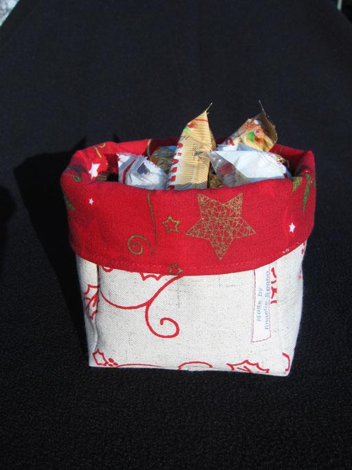 Utensilo für Nüsse etc. - in verschiedenen Größen und Farben (Stoffen) erhältlich