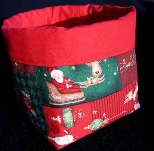 Utensilo aus Weihnachtsstoffen - in verschiedenen Größen und Farben (Stoffen) erhältlich