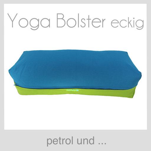 Yoga Bolster eckig Köln petrol