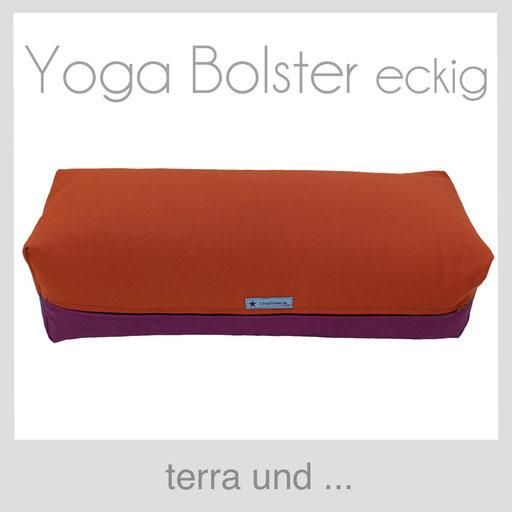 Yoga Bolster terra