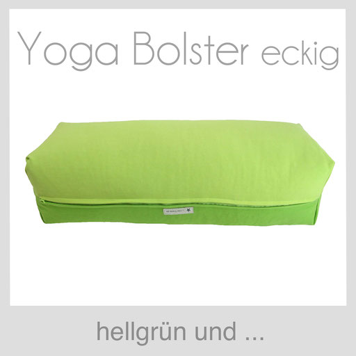 Yoga Bolster eckig Köln hellgrün