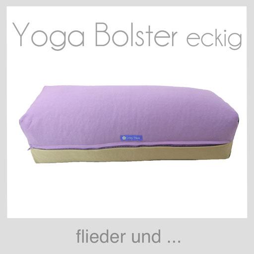 Yoga Bolster eckig Köln flieder