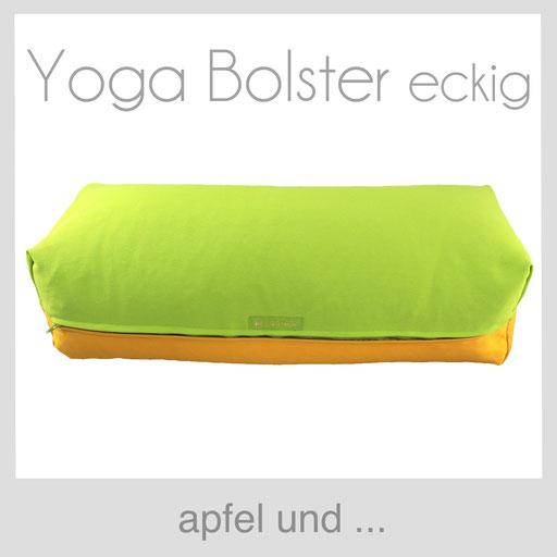 Yoga Bolster apfel grün