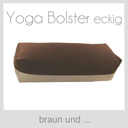 Yoga Bolster eckig Köln braun