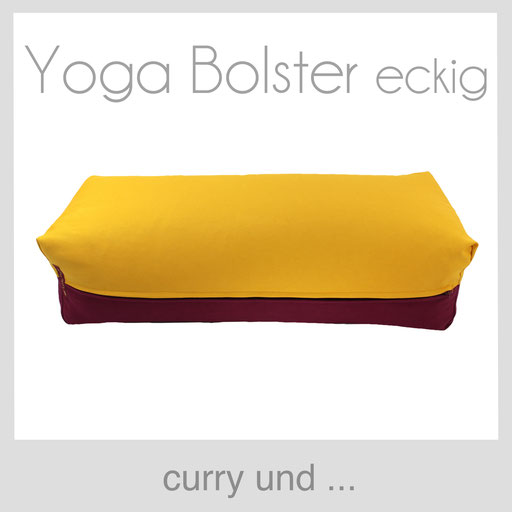 Yoga Bolster eckig Köln curry