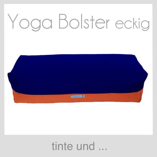 Yoga Bolster tinte blau