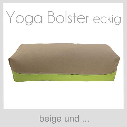 Yoga Bolster eckig Köln beige
