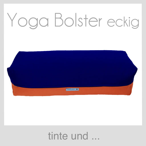 Yoga Bolster eckig Köln tinte blau