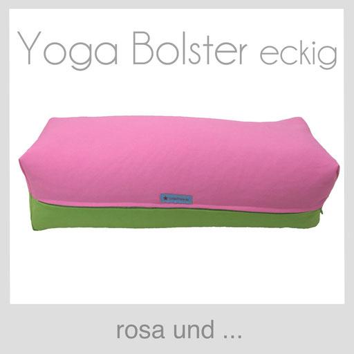 Yoga Bolster eckig Köln rosa