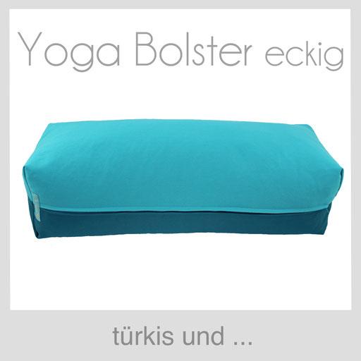 Yoga Bolster eckig Köln türkis