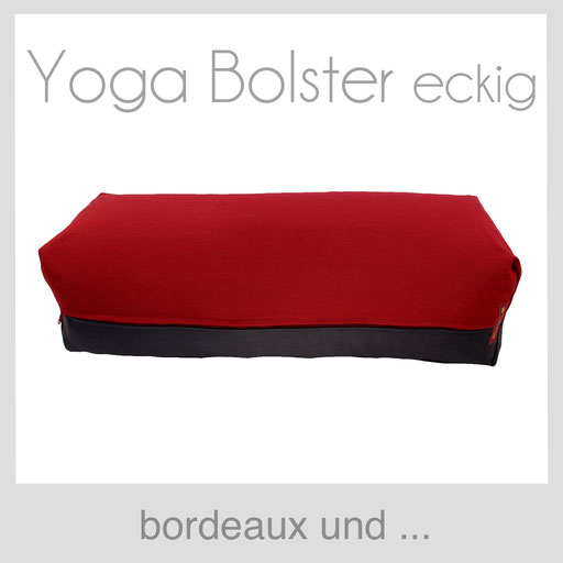 Yoga Bolster eckig Köln bordeaux