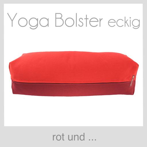 Yoga Bolster eckig Köln rot
