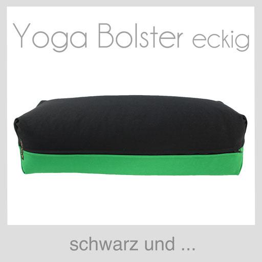 Yoga Bolster eckig Köln schwarz