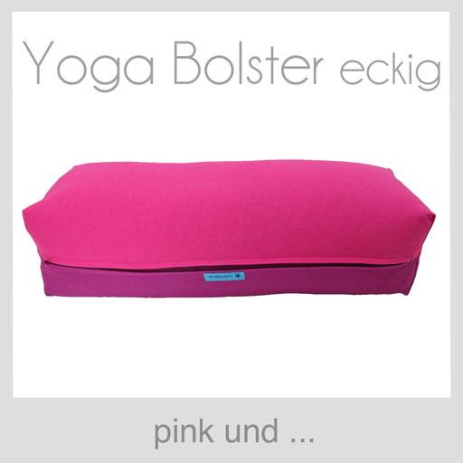 Yoga Bolster eckig Köln pink