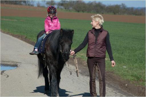 Kinderreiten - entspannt und mit Genuß