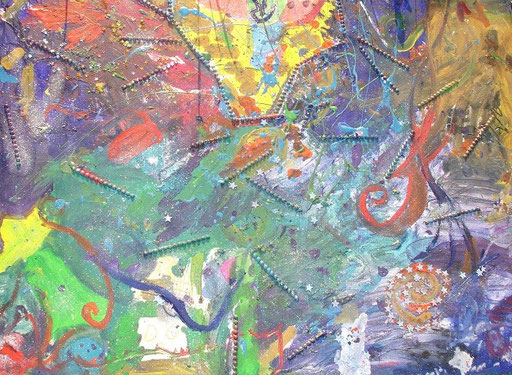 Dhyana Leinwand Malerei Projekt