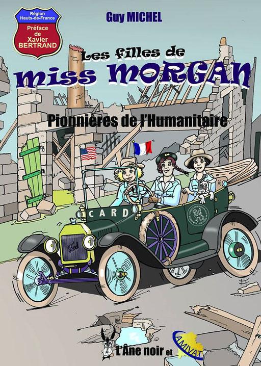 """BD """"Les Filles de Miss Morgan"""""""