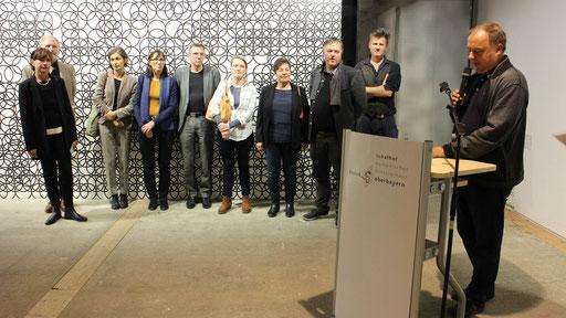 Vernissage Fragile 19.10.2018 Schafhof Europäisches Künstlerhaus