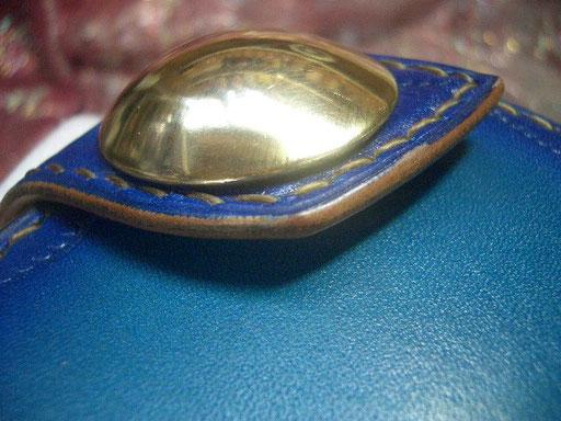 ハイドーム 真鍮コンチョ