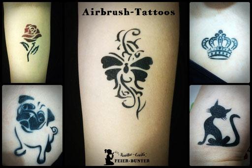 Klein aber fein - die klassischen Tattoos.