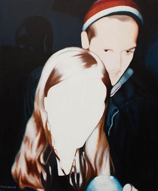 Communicating 2, 2009, 100/120 cm, oil on canvas