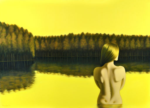 Shadows 7, 2020, 120/170 cm, oil on canvas